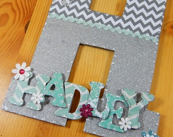 Baby Room Decor, Baby Nursery Letters, Baby Nursery Decor, Custom Nursery Letters, Custom Letters, Nursery Letters, Custom Wood Letters