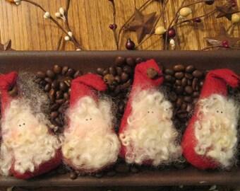 Santa Bowl Filler - Santa Tuck - Holiday Decoration -  Christmas Decoration - Ornament - FAAP~HAFAIR~TEAMHAHA