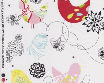 Starling Quilting Fabric by Alexander Henry - FAT QUARTER - OOP