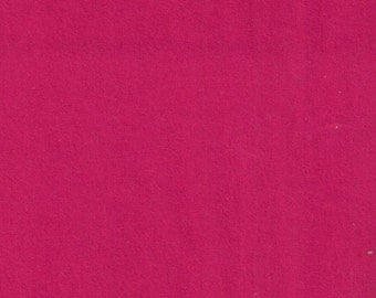Bright Pink Flannel