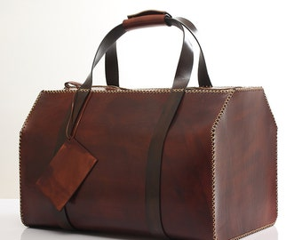 Agarapati Leather  Suitcases Duffel Bag SV02