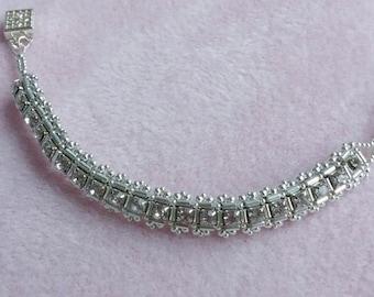 NEW! Princess Kate Silver Bracelet