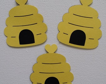 Beehive Die Cut set of 3
