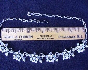 Vintage STAR Rhinestone Necklace(17)