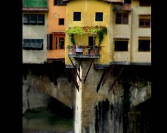 Florence Ponte Vecchio Photography Print
