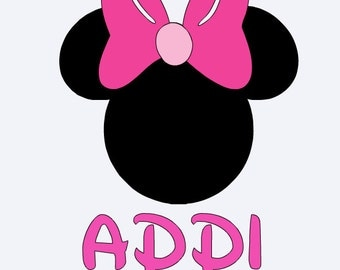 Mickey/Minnie Mouse Decal
