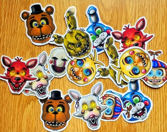 Five Night's At Freddy's (FNAF) Stickers