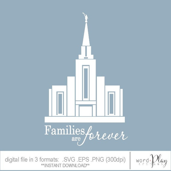 LDS Vancouver BC Temple Canada / Families are by designsbywordplay