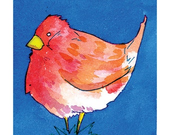 State Birds - Purple Finch