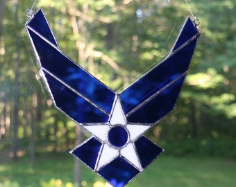 Air Force Logo Suncatcher