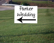 Unique Wedding Yard Signs Related Items Etsy