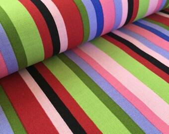 Vertical Stripe Jane Sassman Prairie Gothic Fabric
