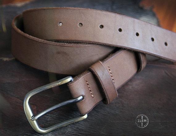 items similar to s leather belt custom leather belt