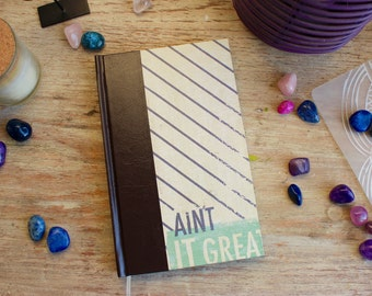 hardcover notebook/journal