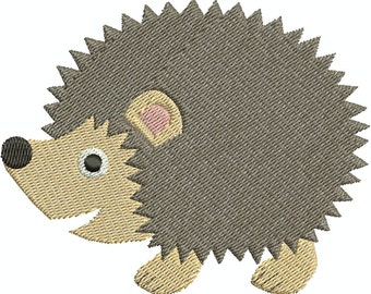 Hedgehog - digital embroidery design