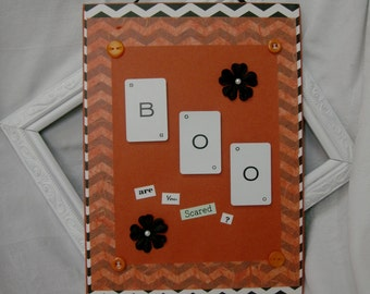"Halloween ""BOO"" Sign"