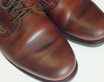 Havana Joe mens oxford size US 13 EUR 47 brown leather upper and lining excellent condition