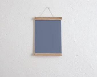 Magnetic poster bar / bar oak A4