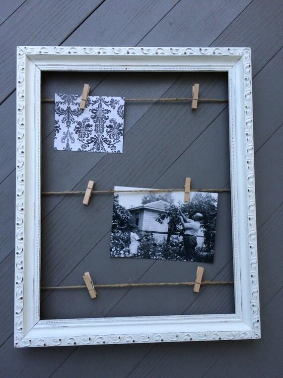 Superior cadre photo pince a linge 3 cadre photos corde - Cadre photo avec pince linge ...