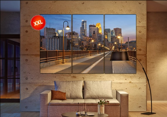 Minneapolis wall decor art  Minneapolis  black white  Minneapolis canvas wall art  canvas wall art