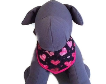 Unique heart dog bandana related items Etsy