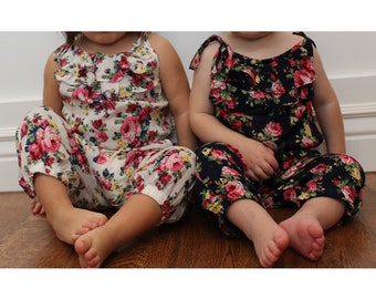 Baby Floral Romper