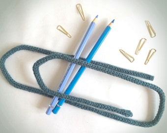 """Trombone """"Giant"""" in knitting"""