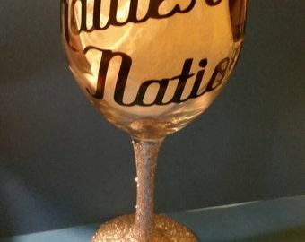 Personalized 20oz wine glass