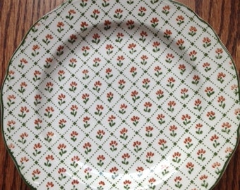 Royal Staffordshire Country French Montpellier  Dinner Plate Ironstone J&G Meakin England 9 5/8""