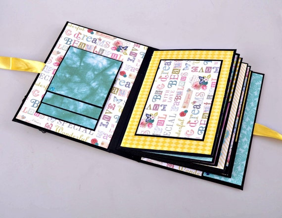 Bridal Shower Scrapbook Album - Bachelorette Album - Bachelorette Memory Book - Personalized Bridal Shower Gift - Made To Order Album