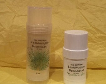 All Natural: Lemongrass Deodorant