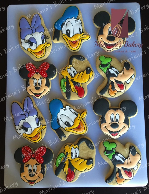how to make mickey mouse sugar cookies