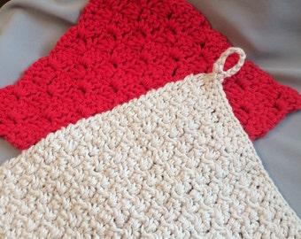 LARGE Cotton Diahcloths! (2piece)