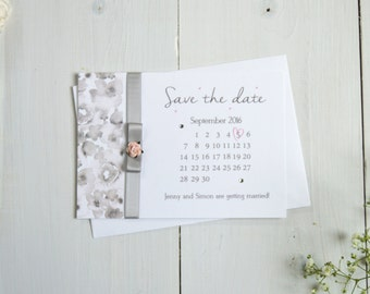 Painted Petals Save the Date
