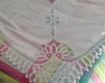 Superb Tablecloth embroidered