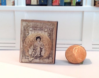 The Raven by Edgar Allen Poe, miniature, readable hardback book.