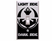 Star Wars Light Switch Cover with Decal!