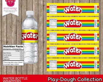 Instant Download Party Water Bottle Labels