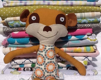 Meerkat Stuffed toy/Ready to Ship/Animal Toy/Stuffed Animal/Cotton Animal