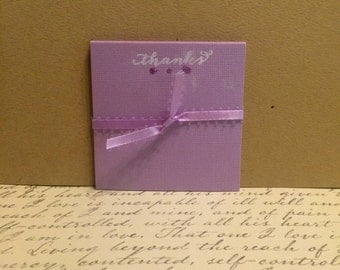 Mini 'Thanks' Notecards - Set of 12