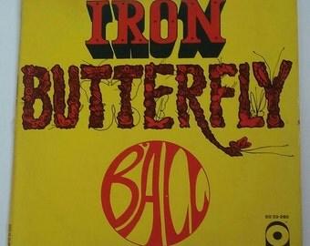 IRON BUTTERFLY, Ball 1969 vinyl LP SD33-280