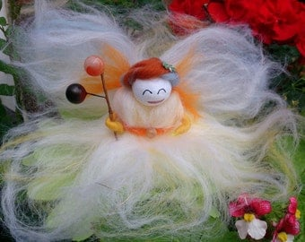 Wool Felt Fairy.  Angel Delight,wool felt fairy