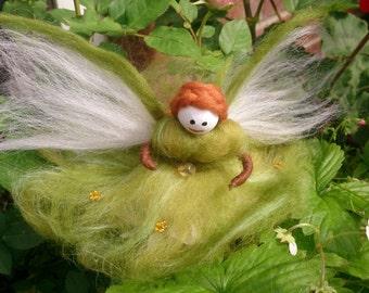 Feeorin - wool felt fairy
