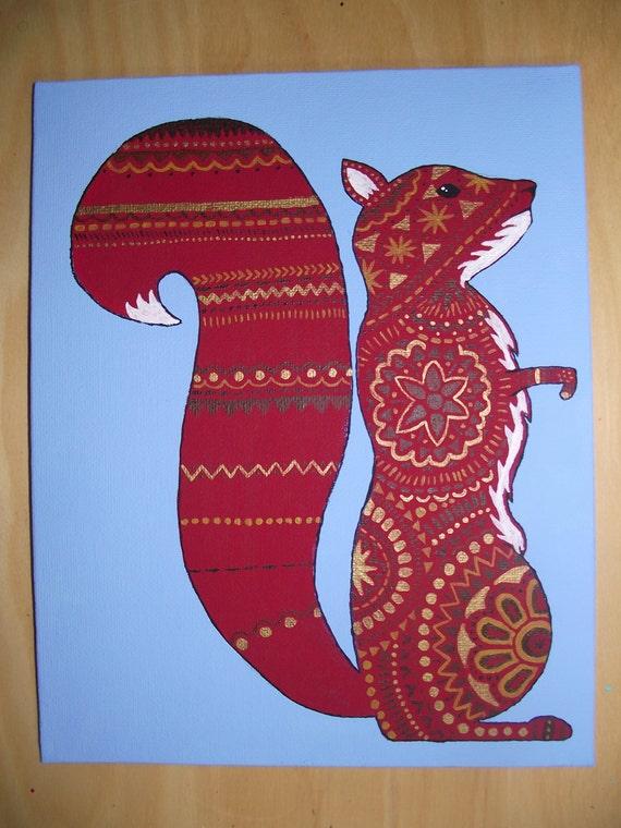 Decorated Squirrel