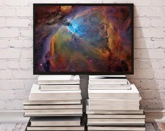 Fantasy poster Galaxy decor Space print