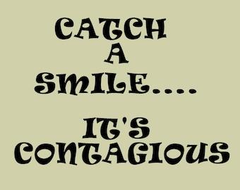 Cathc a Smile Print