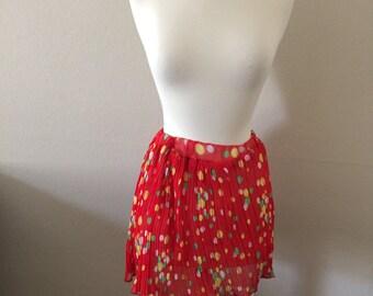 BRIGHT 80s skirt