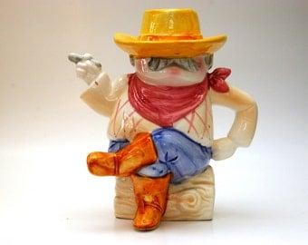Cowboy teapot