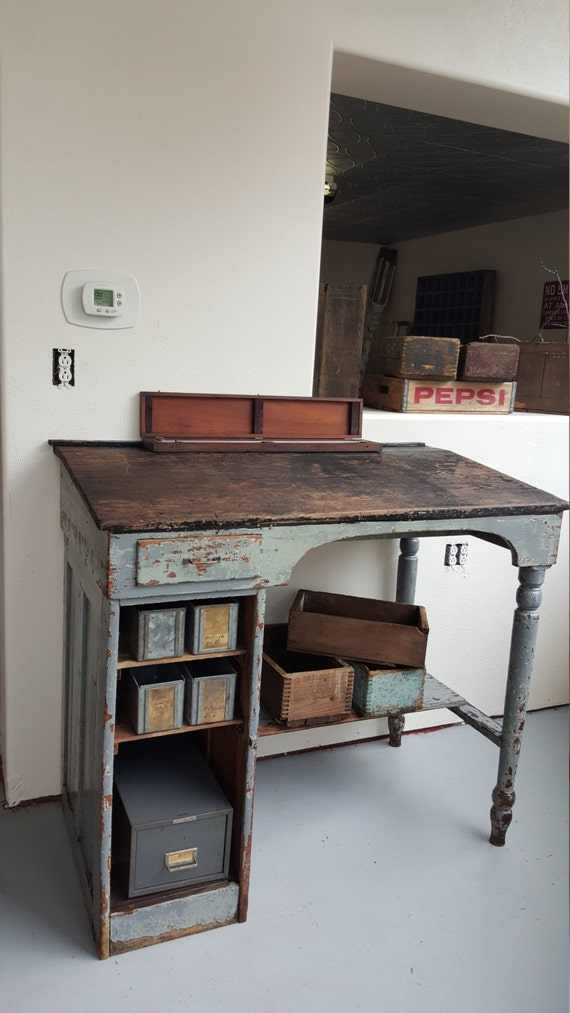 Found on Etsy, Chippy Desk