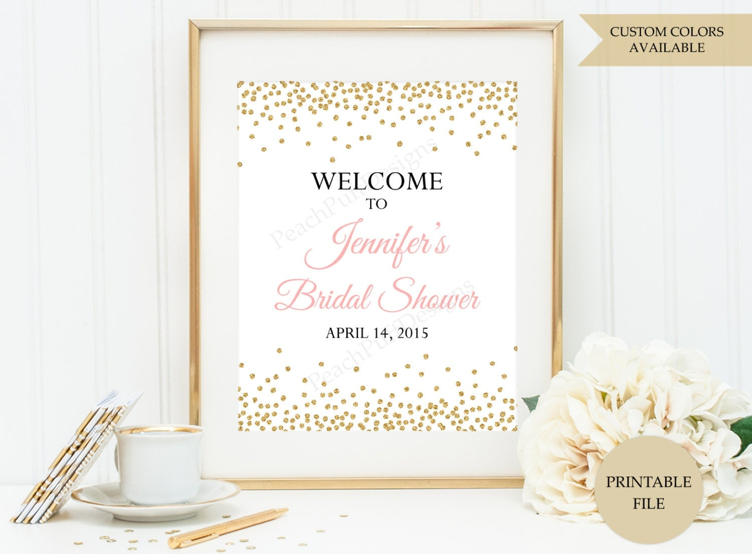 Refreshing image pertaining to printable bridal shower signs